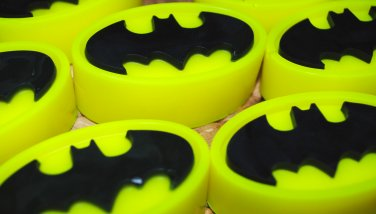 Soap Handmade Batman Logo soaps � Christmas gift, stocking filler