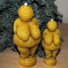 Couple Beeswax Venus of Willendorf Candle - birthday present, party filler