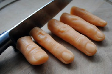 Handmade Fingers Soap - gag, birthday present, party filler, prank, practical joke