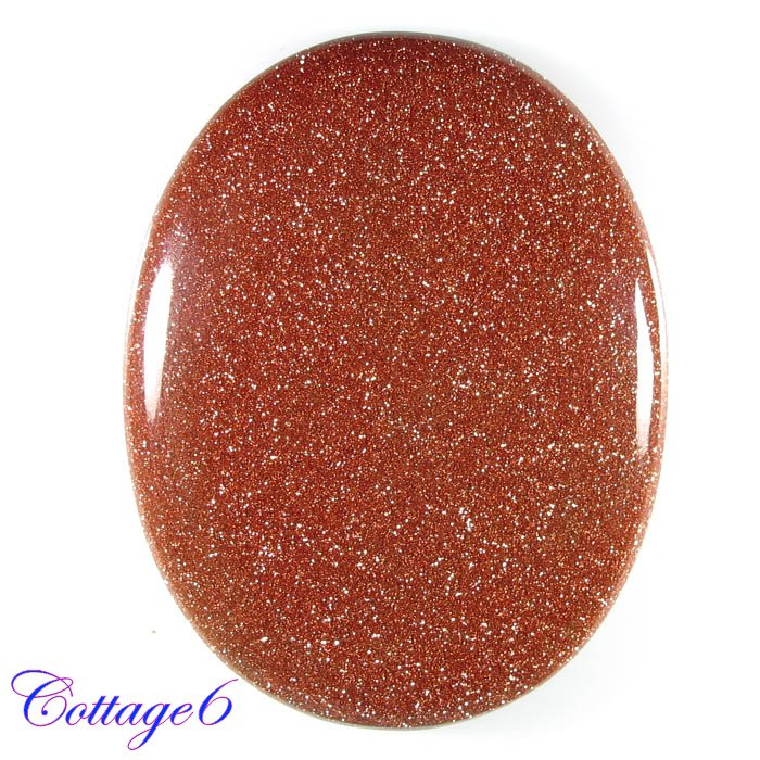 Certified 88.39Cts. BROWN STAR SUNSTONE CABOCHON GEMSTONE C6-438