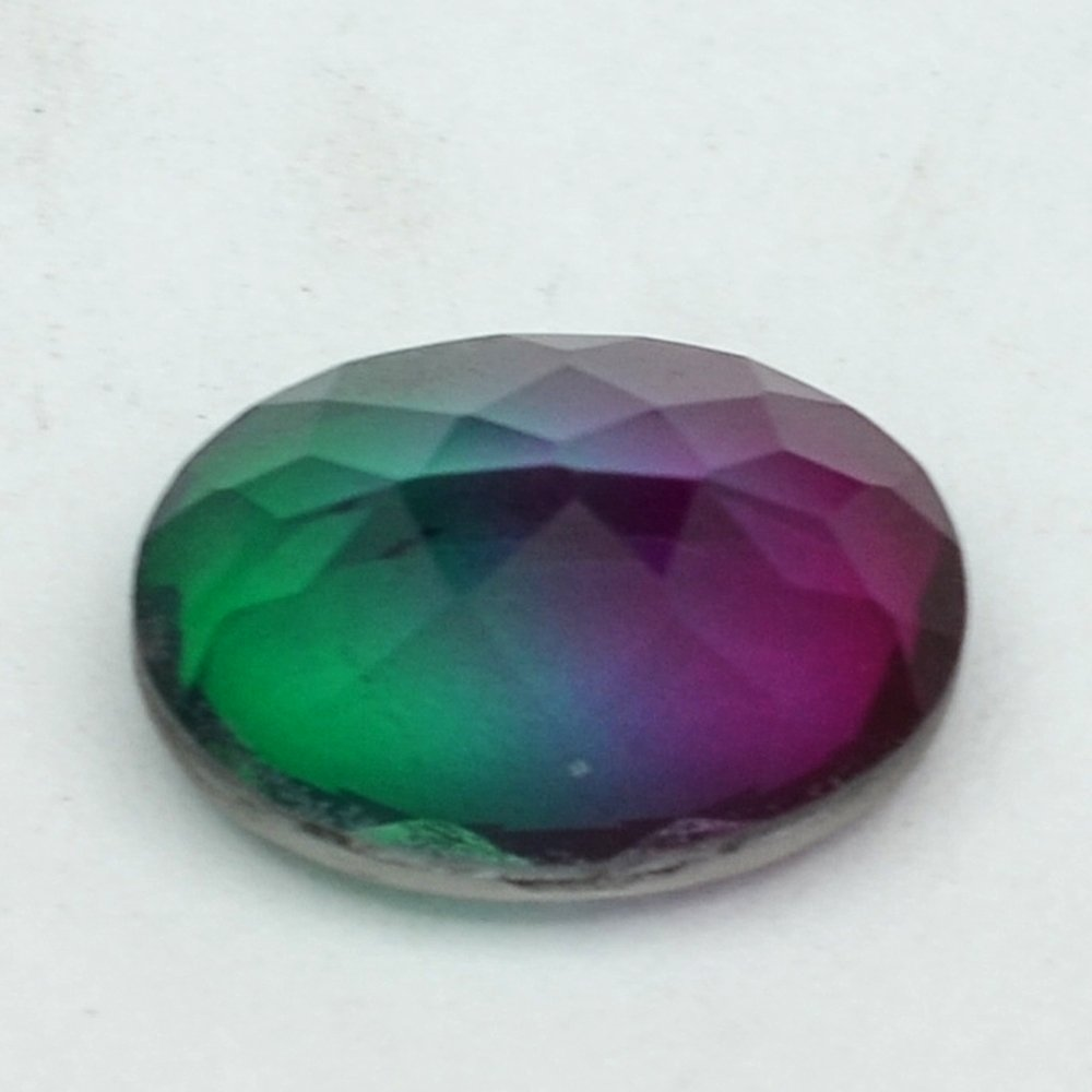 Certified Quartz Doublets Bi-color AAA Quality 10x8 mm Faceted Oval 10 pcs lot loose gemstone