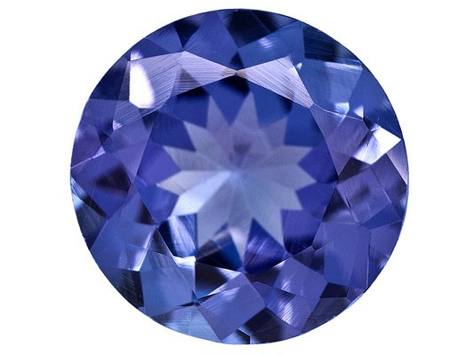 Certified Natural Tanzanite AAA Quality 3.5 mm Faceted Round 10 pcs lot loose gemstone