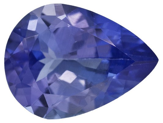 Certified Natural Tanzanite AAA Quality 7x5 mm Faceted Pear 10 pcs lot loose gemstone