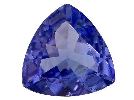 Certified Natural Tanzanite AAA Quality 3.5 mm Faceted Trillion 50 pcs lot loose gemstone