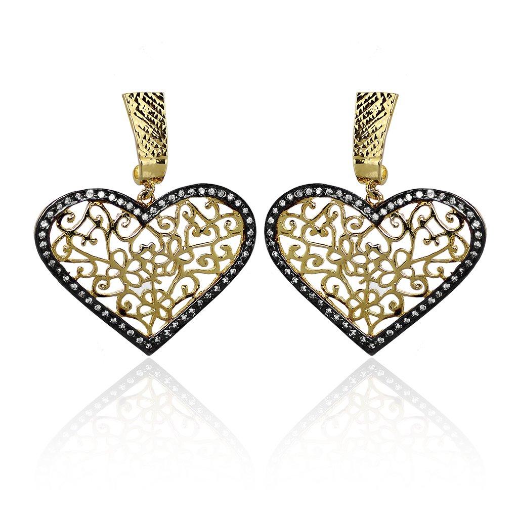 Hearts Designer Earring