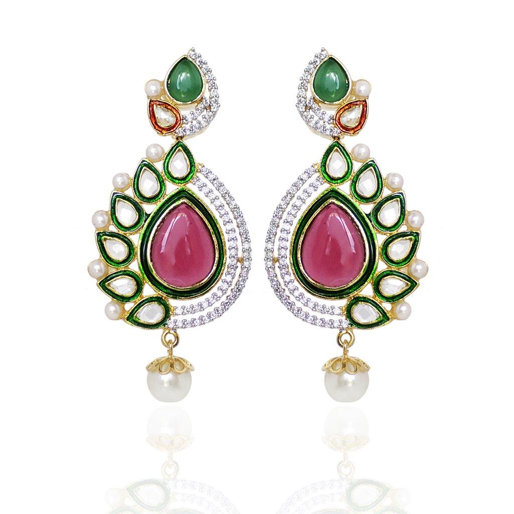 Flower Designer Earrings