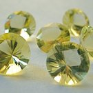Certified Natural Lemon Quartz AAA Quality 1.5 mm Faceted Round 500 pcs lot loose gemstone