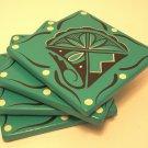 Coasters Southwestern Turquoise