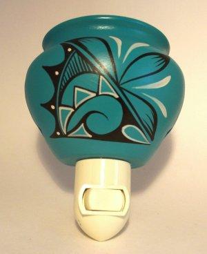 Night Light Southwestern Turquoise