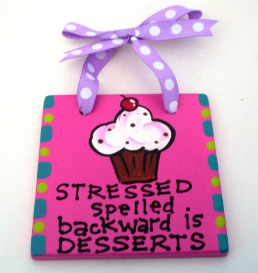 Desserts Handpainted Tile