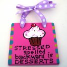 Desserts Handpainted Tile