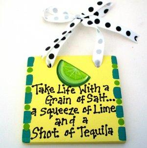 Tequila Handpainted Tile
