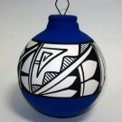 Southwestern Ornament Navy