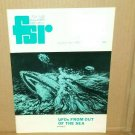 FLYING SAUCER REVIEW FSR Vol 21 #1 1975 UFO OUT OF THE SEA