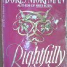Rightfully Mine by Mortman, Doris