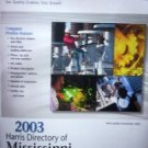 2003 Harris Directory of Mississippi Manufact by Carlsen, Frances L. (Editor)