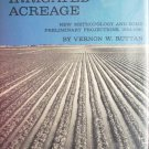 The Economic Demand for Irrigated Acreage by Ruttan, Vernon