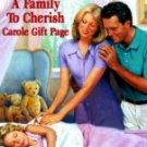 A Family to Cherish by Page, Carole Gift