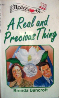 A Real and Precious Thing by Bancroft, Brenda