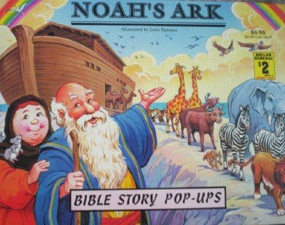 Noah's Ark Bible Pop-Ups by Patience, John