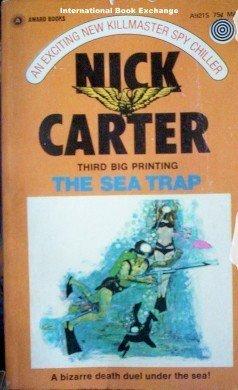 The Sea Trap by Nick Carter (Mass Market PB 1969 Acc)