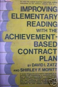 Improving Elementary Reading by David Zatz (HB 1974 G/G