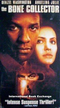 The Bone Collector Angelina Jolie Denzel Washington VHS