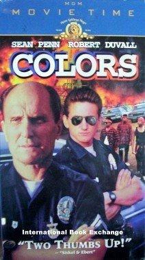 Colors (VHS, 1999) Sean Penn Robert Duvall Good/Good