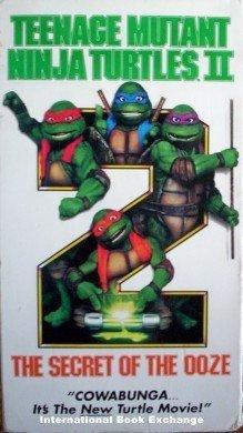 Teenage Mutant Ninja Turtles 2 The Secret of Ooze VHS