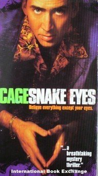 Snake Eyes (VHS, 1999) Nicholas Cage Good/Good