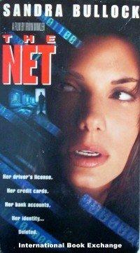 The Net (VHS, 1996, Closed Captioned) Sandra Bullock