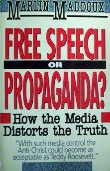Free Speech or Propaganda? Marlin Maddoux (SC 1990 G)