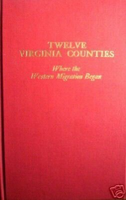 Twelve Virginia Counties Where Western Migration (HB LN