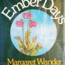 Ember Days Margareet W Bonanno (HB First Ed 1980 G/G)