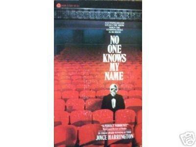 No One Knows My Name by Joyce Harrington (1981) *