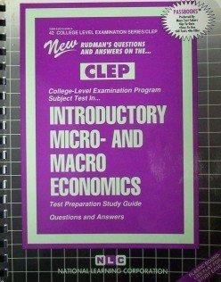 CLEP Introductory Macro-Economics  Rudman's Study Guide