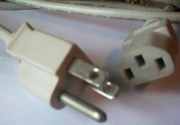 Universal Power Cable Printer Computer 5' Free Shipping