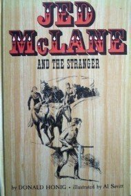 Jed McLane and the Stranger Donald Honig (HB 1967 G) *