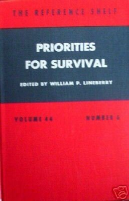 Priorities for Survival (HB 1973 G)