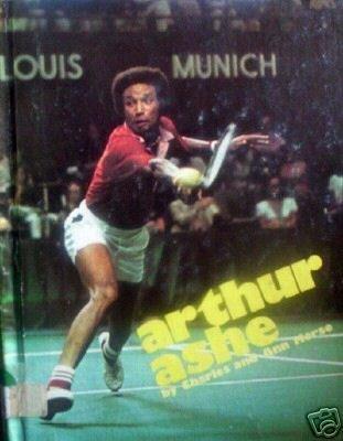 Arthur Ashe by Charles Morse (HB 1974 G/N)