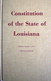 Constitution of State of Louisiana (HB 1974 G) *