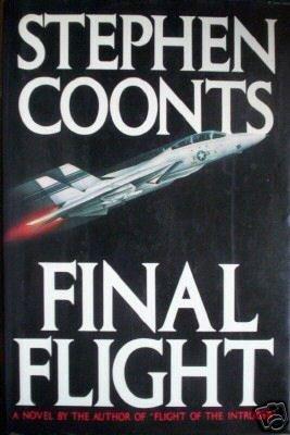 Final Flight Stephen Coonts (HB 1st 1988) ** Signed **