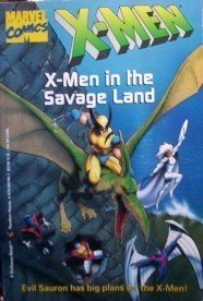 X-Men in the Savage Land by Paul Mantel Free Shipping