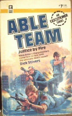Justice by Fire # 7 Dick Stivers ( 1985, Paperback G )