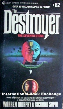 Destroyer: The Seventh Stone # 62 Warren Murphy (MMP G)