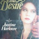 Memory and Desire by Justine Harlowe (HB 1982 1st Ed G)