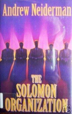 The Solomon Organization by Andrew Neiderman (HB 1993 *