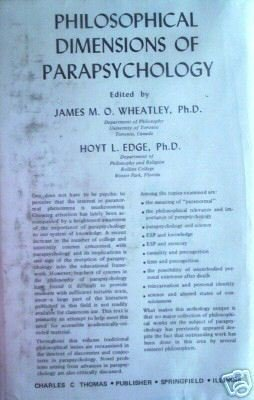 Philosophical Dimensions of Parapsychology Wheatley *