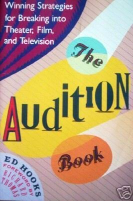 The Audition Book by Ed Hooks (SC 1989 First Ed G)