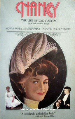 Nancy Lady Astor by Christopher Sykes (1984 Softcover)